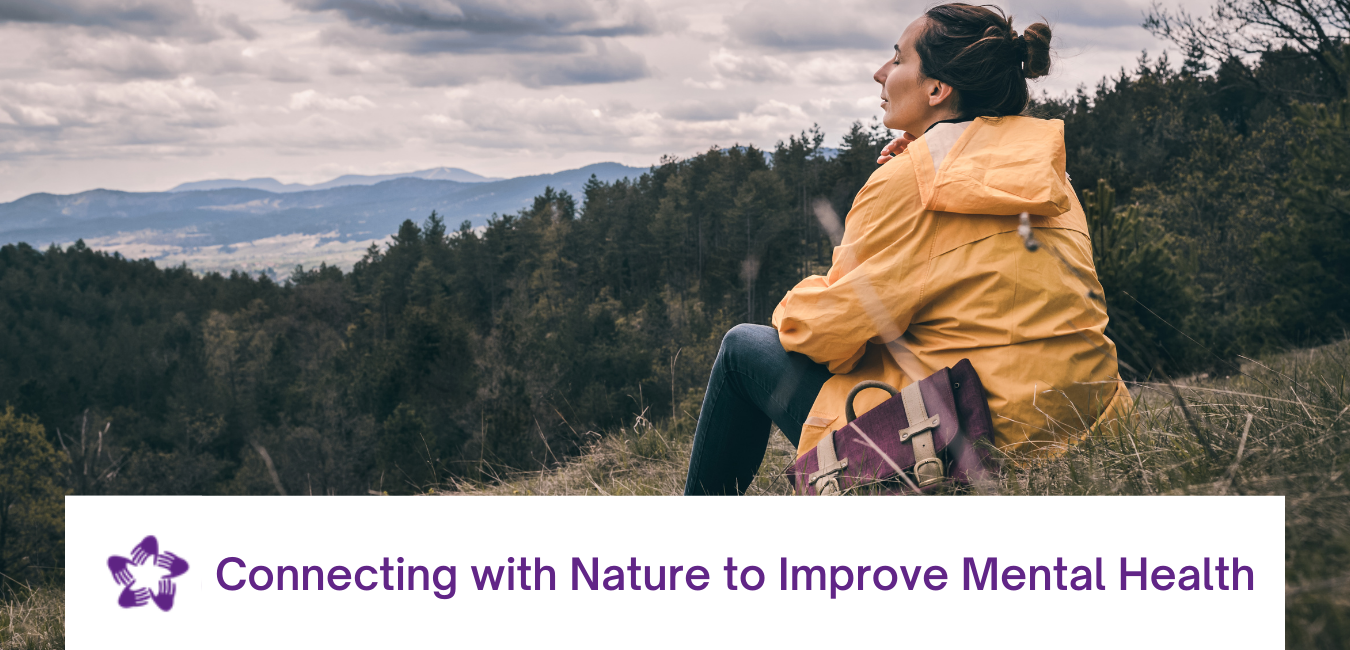 Header for Connecting With Nature to Improve Mental Health